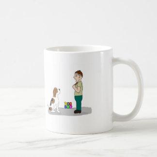犬は神のマグです コーヒーマグカップ