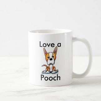 犬を愛して下さい コーヒーマグカップ