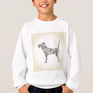 犬ビジネス スウェットシャツ