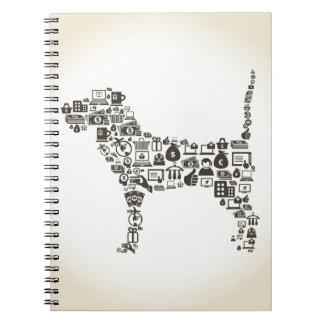 犬ビジネス ノートブック