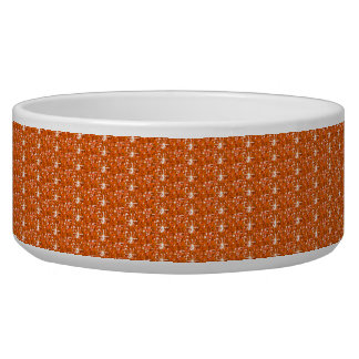 犬ボールのオレンジグリッター 犬の水皿