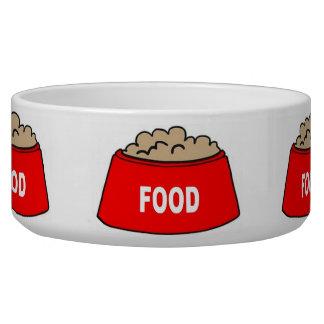 犬ボールの食糧ボールの赤の食糧