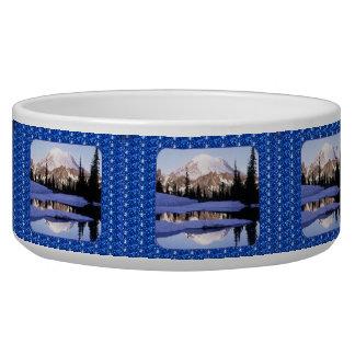 犬ボール犬Mt Rainerの青いグリッター