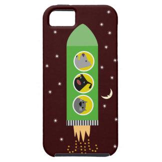 犬及び猫Rocketship iPhone SE/5/5s ケース