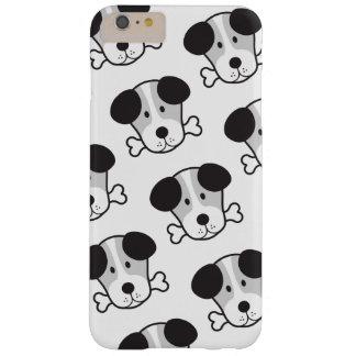 犬及び骨パターン(ロンドンっ子の韻を踏む俗語) B&W BARELY THERE iPhone 6 PLUS ケース