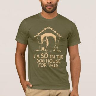 犬小屋のワイシャツ-スタイル及び色を選んで下さい Tシャツ