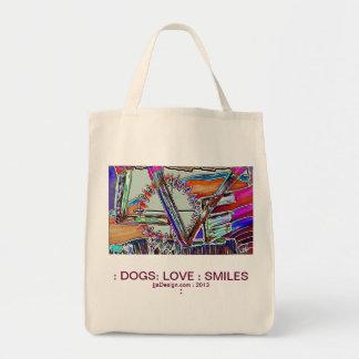 犬愛スマイル トートバッグ