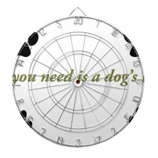 犬愛 ダーツボード