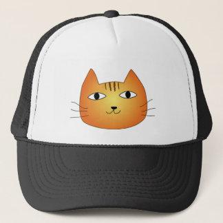 犬猫クイズの猫 キャップ