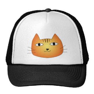 犬猫クイズの猫 トラッカー帽子