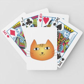 犬猫クイズの猫 バイスクルトランプ