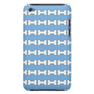 犬用の骨(青及び白い) Case-Mate iPod TOUCH ケース