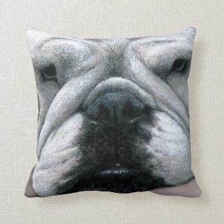 犬118の英国のブルドッグの枕箱 クッション