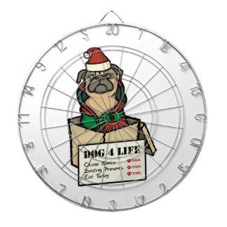 犬4の人生のクリスマス ダーツボード