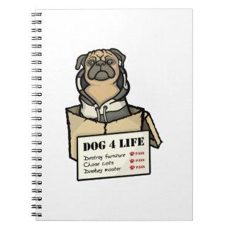犬4の生命 ノートブック