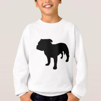 (犬)スタッフォードのブルテリアのギア スウェットシャツ