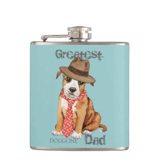 (犬)スタッフォードのブルテリアのパパ フラスク