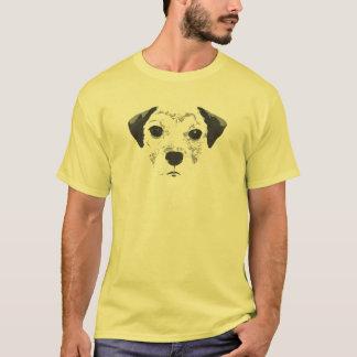 (犬)スタッフォードのブルテリアの子犬のTシャツ Tシャツ