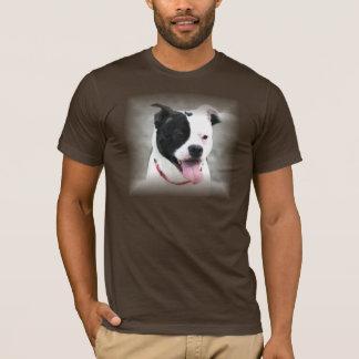 (犬)スタッフォードのブルテリアのTシャツ Tシャツ