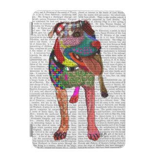 (犬)スタッフォードのブルテリア-パッチワーク iPad MINIカバー