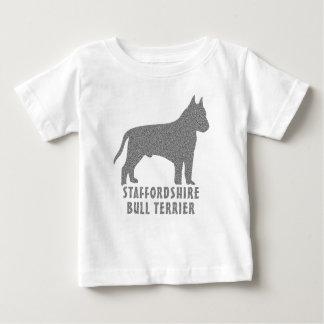 (犬)スタッフォードのブルテリア ベビーTシャツ