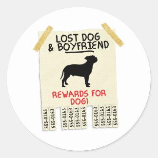 (犬)スタッフォードのブルテリア ラウンドシール