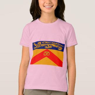 (犬)スタッフォードの旗 Tシャツ