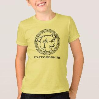 (犬)スタッフォードのYoutのアメリカのワイシャツ-ピット・ブルのティー Tシャツ