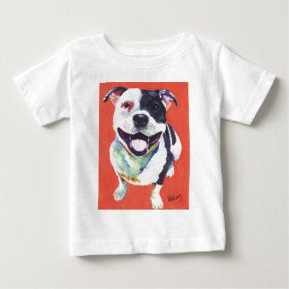 (犬)スタッフォードテリア ベビーTシャツ