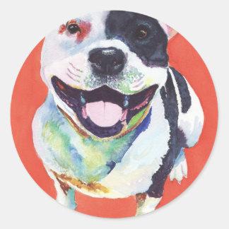 (犬)スタッフォードテリア ラウンドシール