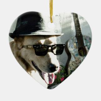 犬 セラミックオーナメント