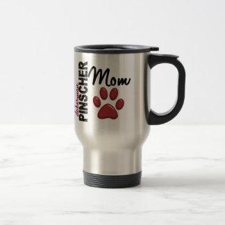 (犬)ドーベルマン・ピンシェルのお母さん2 トラベルマグ