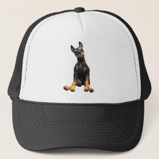 (犬)ドーベルマン・ピンシェルの子犬のモデル キャップ