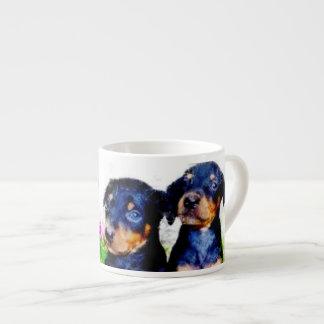(犬)ドーベルマン・ピンシェルの子犬 エスプレッソカップ