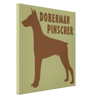 (犬)ドーベルマン・ピンシェル キャンバスプリント