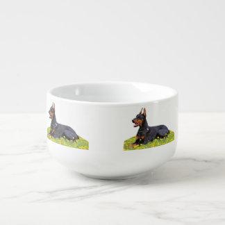 (犬)ドーベルマン・ピンシェル スープ用マグ