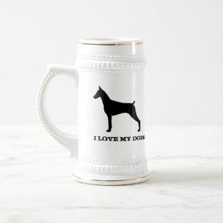 (犬)ドーベルマン・ピンシェル ビールジョッキ