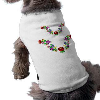 犬、ハンガリー語、刺繍、kalocsai ペット服