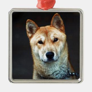 犬 メタルオーナメント