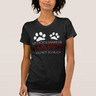 犬=幸福 Tシャツ