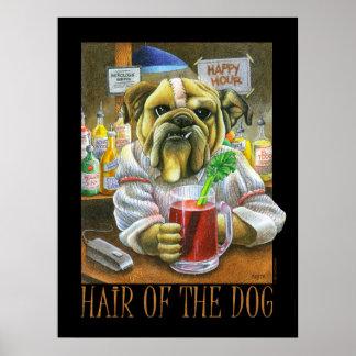 犬(残存物の助け)の毛 ポスター