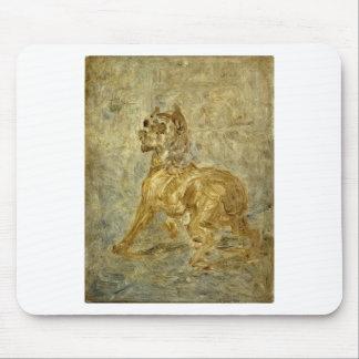 犬(Toucのスケッチ)アンリーdeツールーズLautrec マウスパッド