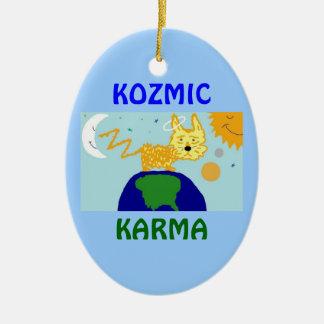 犬nの宇宙KOZMICカルマのオーナメント セラミックオーナメント