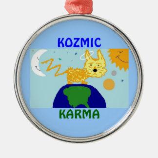 犬nの宇宙KOZMICカルマのオーナメント メタルオーナメント