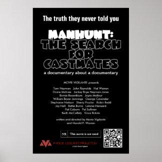 犯人捜査: Castmatesの調査 プリント