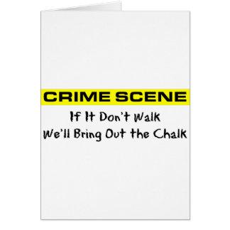 犯罪現場の調査官 カード