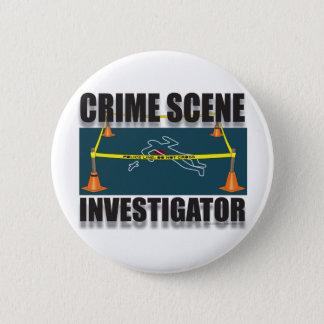 犯罪現場の調査官 缶バッジ