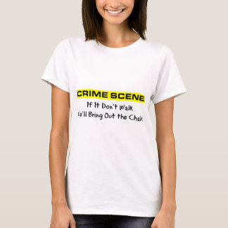 犯罪現場の調査官 Tシャツ