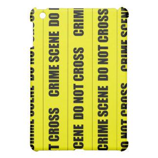 犯罪現場テープ iPad MINI CASE