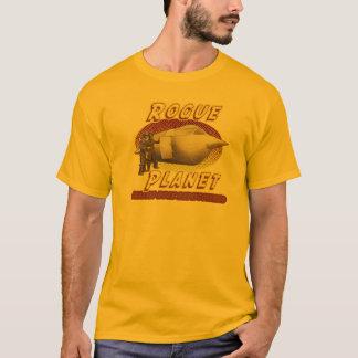 狂暴な惑星の宇宙飛行船のTシャツ Tシャツ